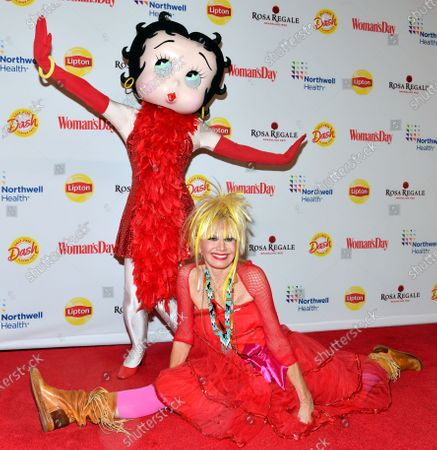 Stock Photo of Betsey Johnson and Betty Boop