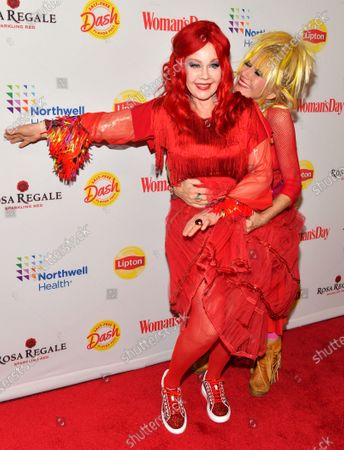 Stock Photo of Kate Pierson and Betsey Johnson
