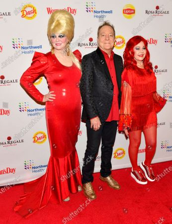 Cindy Wilson, Fred Schneider and Kate Pierson