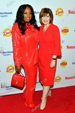 Star Jones and Nancy Brown