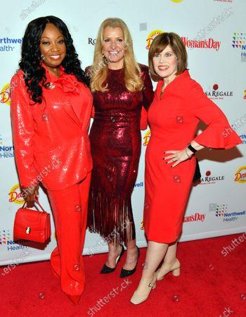 Star Jones, Mindy Grossman and Nancy Brown