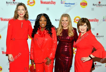 Susan Spencer, Star Jones, Mindy Grossman and Nancy Brown