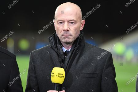 Newcastle United legend, now BBC presenter , Alan Shearer during the The FA Cup match between Oxford United and Newcastle United at the Kassam Stadium, Oxford