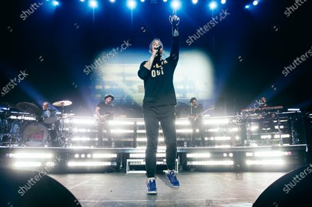 Editorial picture of Brett Young in concert at Hammerstein Ballroom, New York, USA - 01 Feb 2020