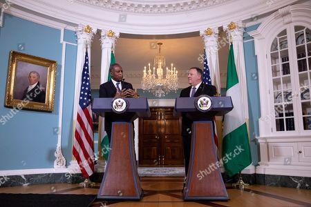 Editorial image of US Nigeria, Washington, USA - 04 Feb 2020