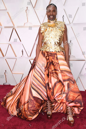Editorial photo of 92nd Annual Academy Awards, Arrivals, Fashion Highlights, Los Angeles, USA - 09 Feb 2020