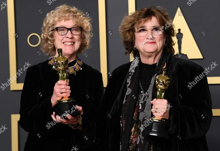 Editorial photo of 92nd Annual Academy Awards, Press Room, Los Angeles, USA - 09 Feb 2020
