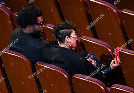 Stock Image of Questlove and guest