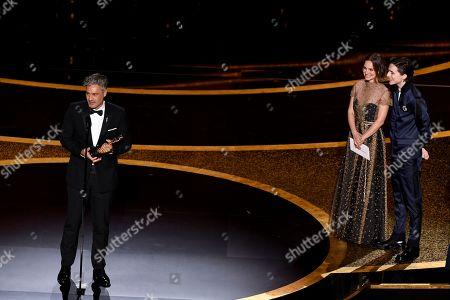 Taika Waititi - Adapted Screenplay - Jojo Rabbit, Natalie Portman and Timothee Chalamet