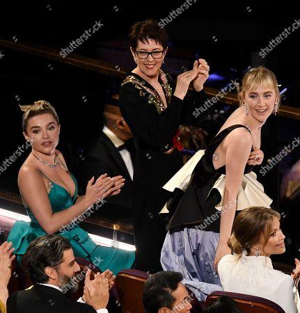 Florence Pugh and Saoirse Ronan
