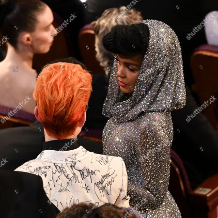 Sandy Powell and Janelle Monae
