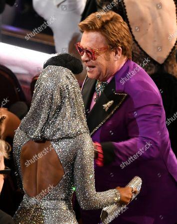 Janelle Monae and Sir Elton John