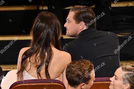 Camila Morrone and Leonardo DiCaprio