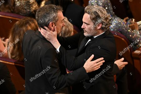 Stock Image of Todd Phillips and Joaquin Phoenix