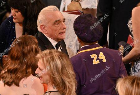 Martin Scorsese and Spike Lee