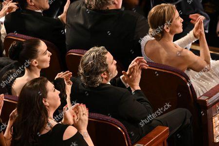 Rooney Mara, Joaquin Phoenix and Renee Zellweger