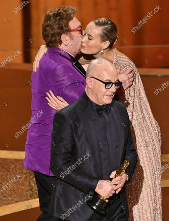 Sir Elton John and Bernie Taupin - Original Song - I'm Gonna Love Me Again - Rocketman and Brie Larson