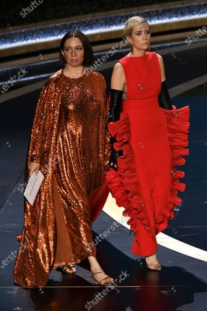 Stock Picture of Maya Rudolph and Kristen Wiig