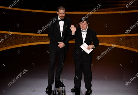Shia LaBeouf and Zack Gottsagen