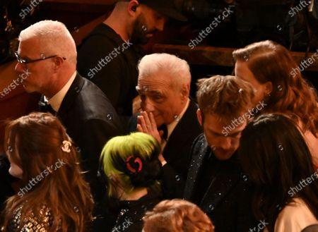 Martin Scorsese and Billie Eilish