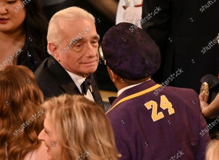 Stock Image of Martin Scorsese and Spike Lee