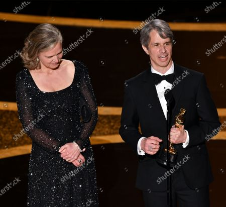 Stock Photo of Elizabeth Martin and Marshall Curry - Best Live Action Short Film - The Neighbors' Window
