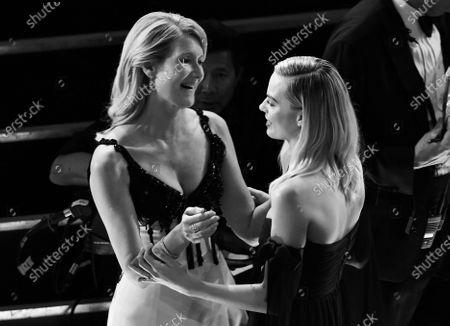 Laura Dern and Margot Robbie