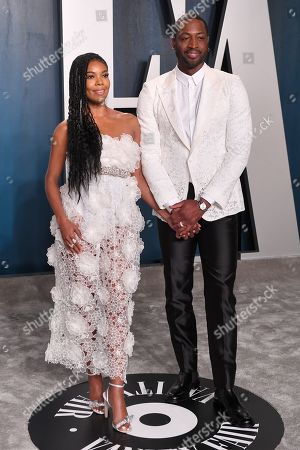 Stock Photo of Gabrielle Union and Dwyane Wade