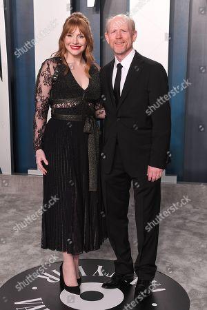Bryce Dallas Howard and Ron Howard