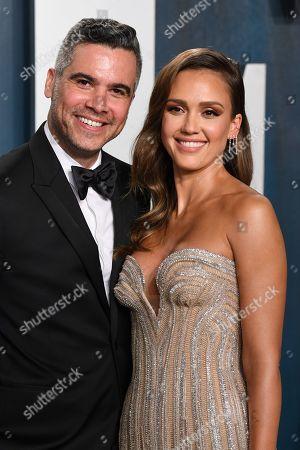 Cash Warren and Jessica Alba