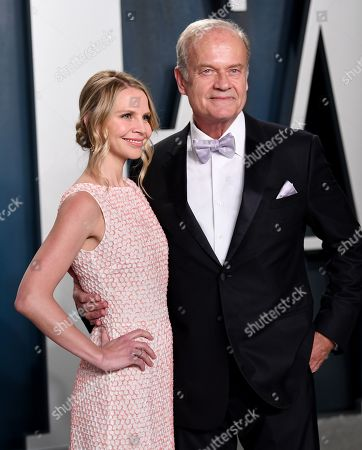 Stock Photo of Kayte Walsh and Kelsey Grammer