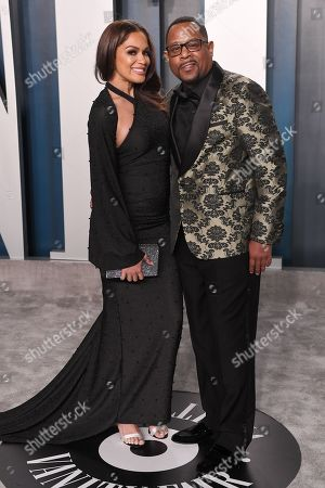 Stock Photo of Roberta Moradfar and Martin Lawrence