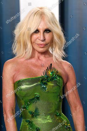 Editorial photo of Vanity Fair Oscar Party, Arrivals, Los Angeles, USA - 09 Feb 2020