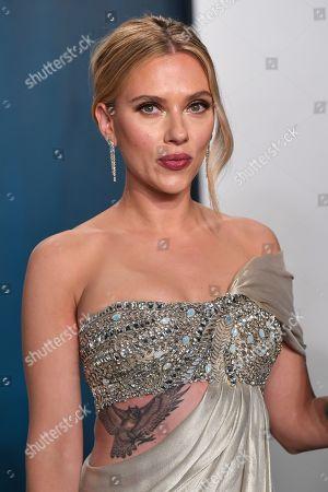 Stock Picture of Scarlett Johansson