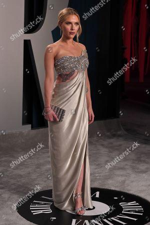 Stock Photo of Scarlett Johansson