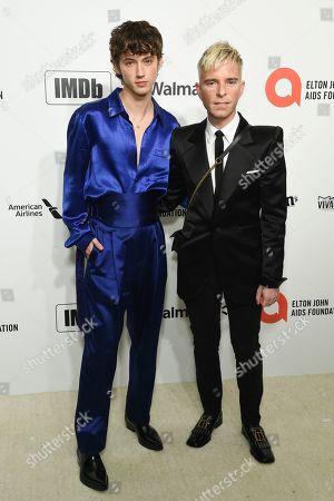 Stock Image of Troye Sivan and Drew Elliott
