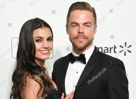 Hayley Erbert and Derek Hough