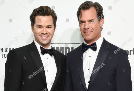Andrew Rannells and Tuc Watkins