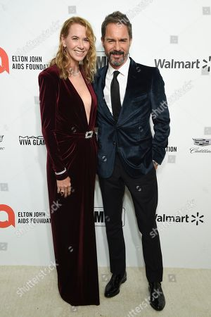 Janet McCormack and Eric McCormack