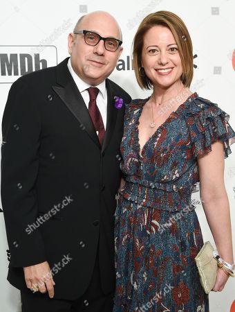 Willie Garson and guest
