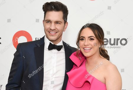 Stock Photo of Andy Grammer and Aijia Grammer