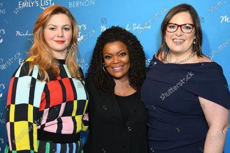 Amber Tamblyn, Yvette Nicole Brown, Emily Cain