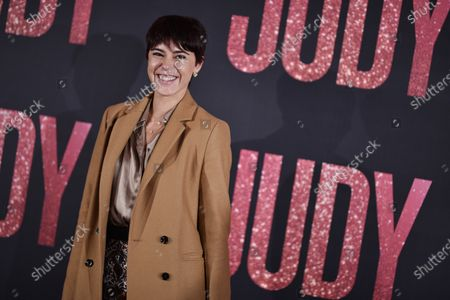 Belgian singer Barbara Opsomer poses during the premiere of 'Judy' by British director Rupert Goold, in Paris, France, 04 February 2020. The film will be released on 26 February 2020.