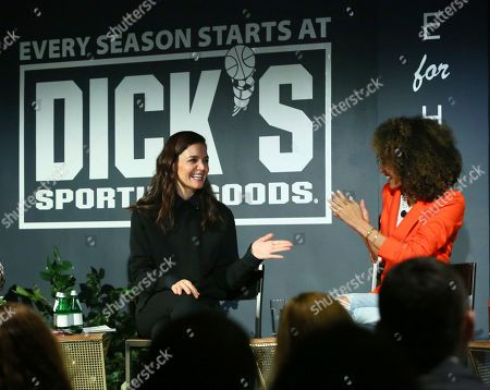 Editorial picture of DICK'S Sporting Goods Here for Her Summit, New York, USA - 04 Feb 2020