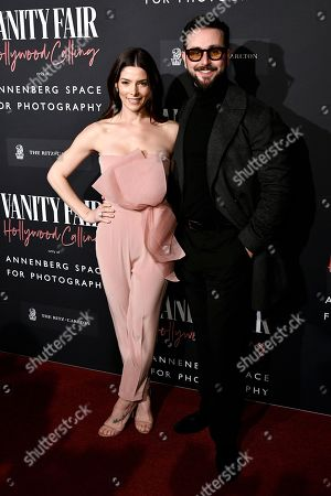 Stock Picture of Ashley Greene and Paul Khoury