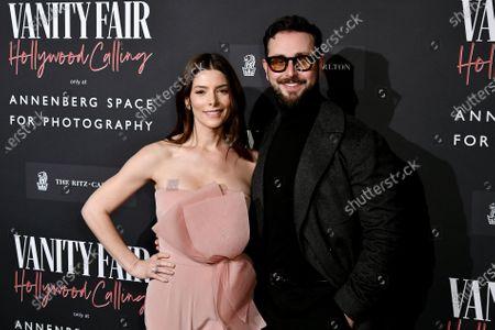 Stock Image of Ashley Greene and Paul Khoury