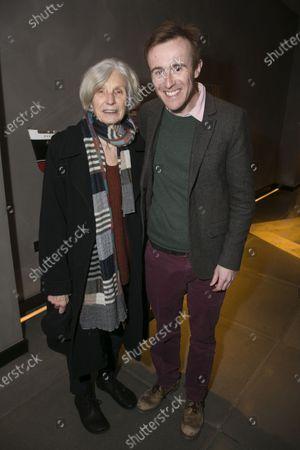 Stock Picture of Caryl Churchill and John Heffernan