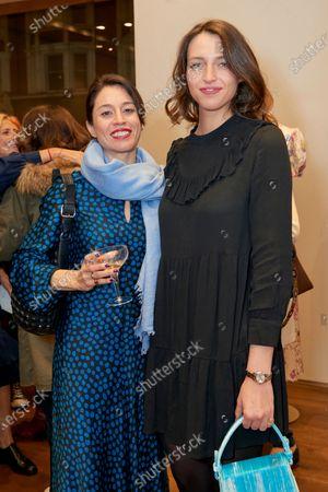 Amal Avramides and Julia Tazartes