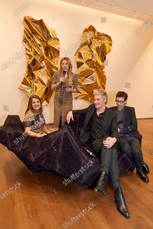 Nazy Vassegh, Alex Meyers, Patrik Fredrikson and Ian Stallard