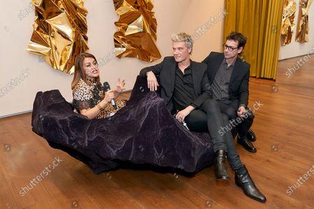 Nazy Vassegh, Patrik Fredrikson and Ian Stallard